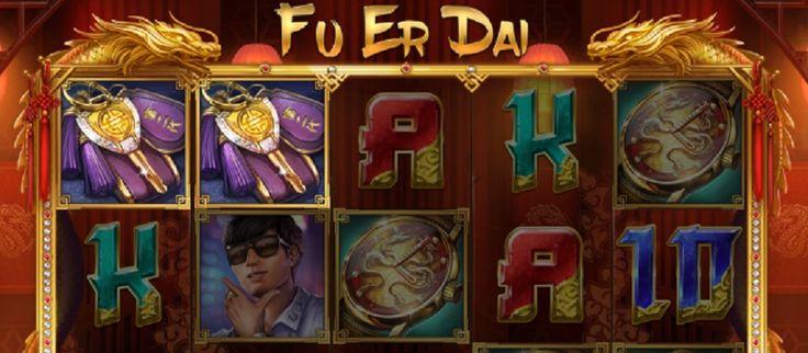 Fu Er Dai er et iøjnefaldende og elegant videoslotspil med 5 hjul og 10 faste gevinstlinjer. Spillet indeholder et voksende Wild-symbol og en mulighed for at vinde gratis spil #FuErDai #videoslot