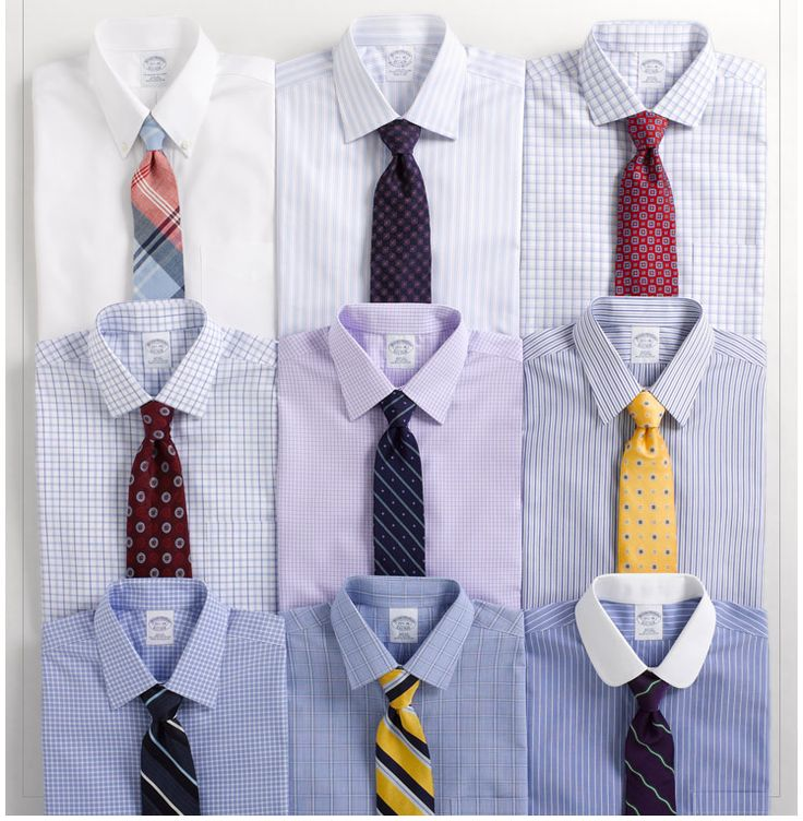 men and shirt and tie combo