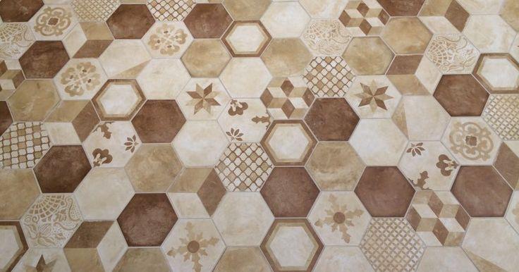 17 best images about esagoni on pinterest mosaic floors. Black Bedroom Furniture Sets. Home Design Ideas
