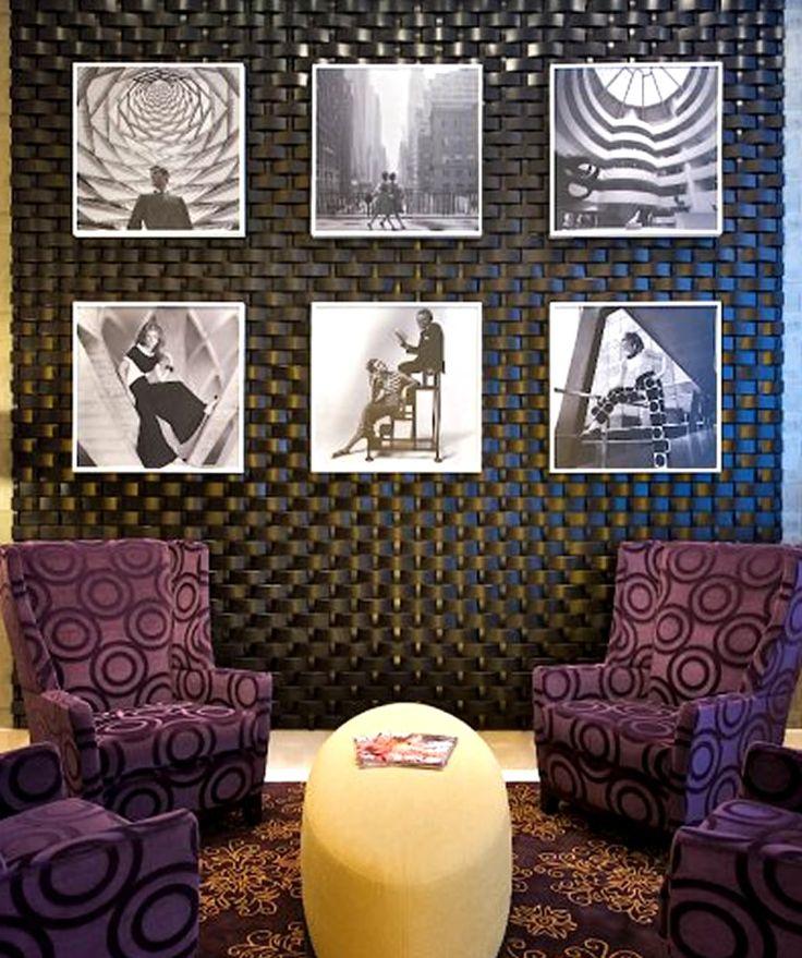 Lobby Vintage Wall Art Interior -The Strand Midtown Manhattan NYC - eklektik als lifestyle trend interieurdesign