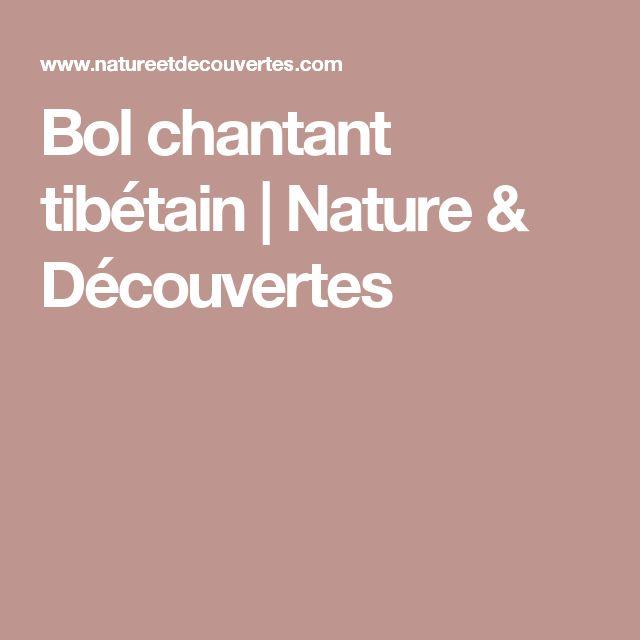 Bol chantant tibétain | Nature & Découvertes