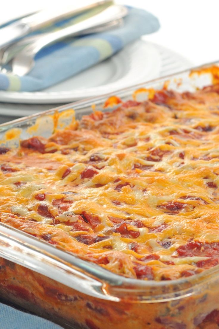 Mexican Casserole - 6.5 Weight Watcher Points | KitchMe