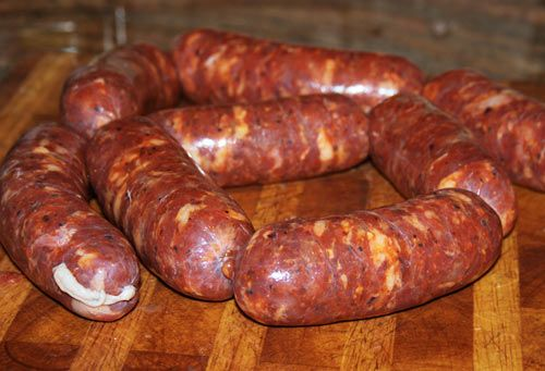 How To Make Homemade Italian Sausages Step By Step.  Making your own Italian sausages is a great way to create a quality product where you know exactly what went into your sausages unlike the ones you buy at the grocery store. It also allows you to personalize your sausages so you can season them to meet your own personal preferences which ensures you get the best tasting sausage.    This recipe is for hot sausages, but you could certainly decrease or even cut out the red pepper flakes.