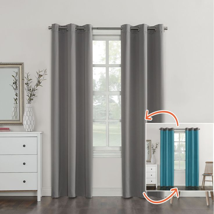 Die besten 25+ Grey blackout curtains Ideen auf Pinterest ...