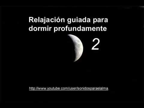 RELAJACION GUIADA PARA DORMIR PROFUNDAMENTE - Tu barrio cósmico - YouTube