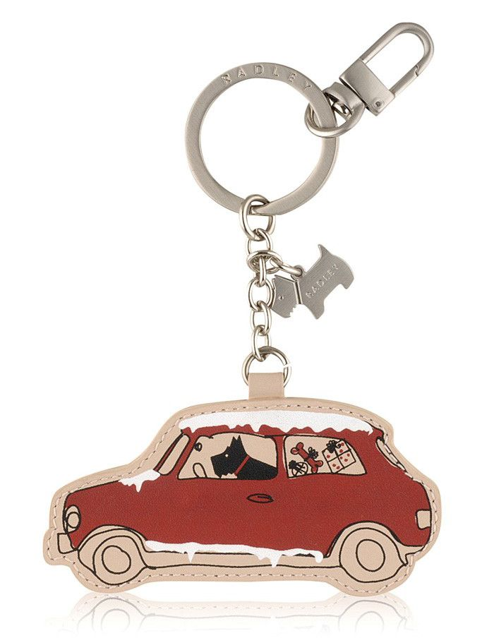 Radley Christmas Car Keyring 2013, I'd love one of these in my stocking :)