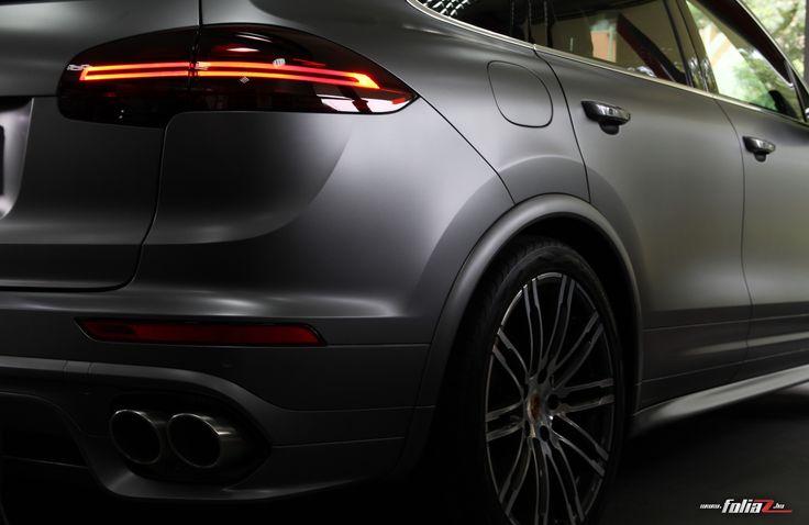 Matte Paint protection film - Porsche Cayenne