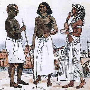 Как сделать египетский костюм мужской