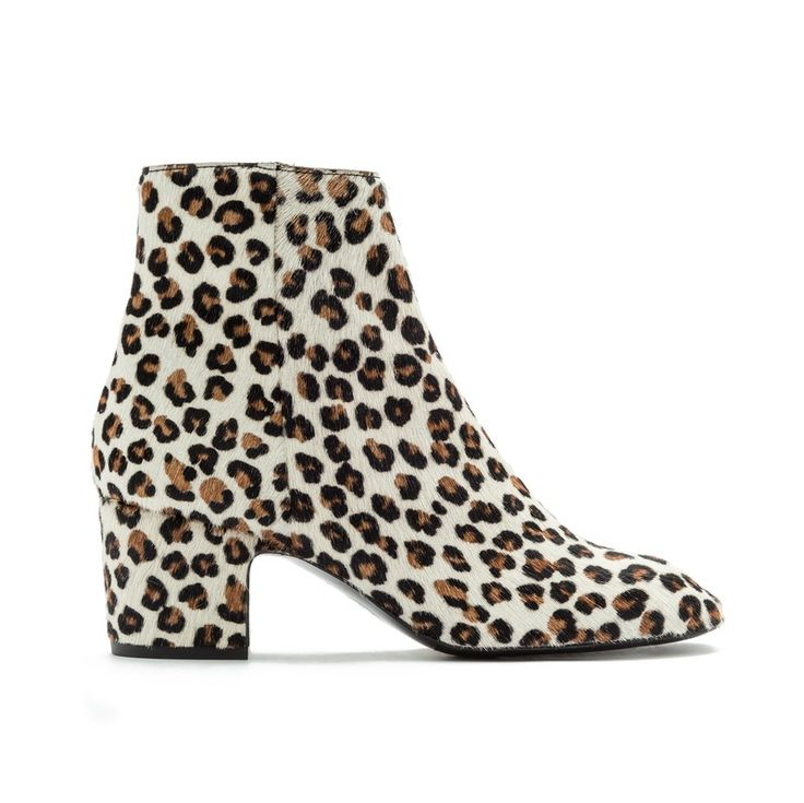 BIMBA Y LOLA Leopard print ankle boots