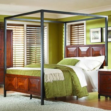 Cheap Canopy Beds | Homelegance Skyline California King Canopy Bed 914K-1CK