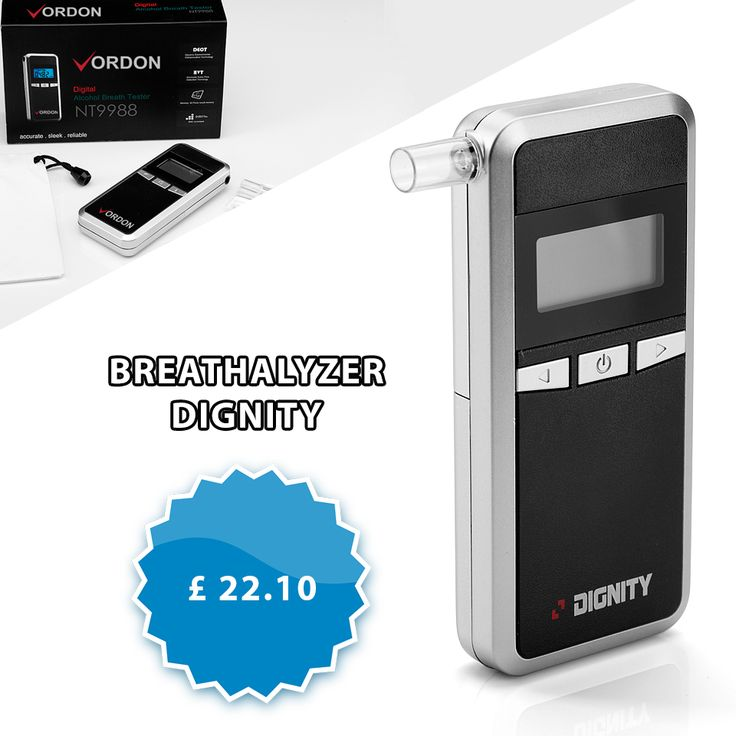 Had a few drinks? Feeling a bit drunk? Not sure if you should drive and risk a drink driving Our breathalyzer will measure the amount of alcohol in your blood through your breath.  http://turanshop.co.uk/vordon/51796-breathalyzer-dignity-5-mouthpieces.html?  #dui #dwi #drinkdriving #breathalyzer