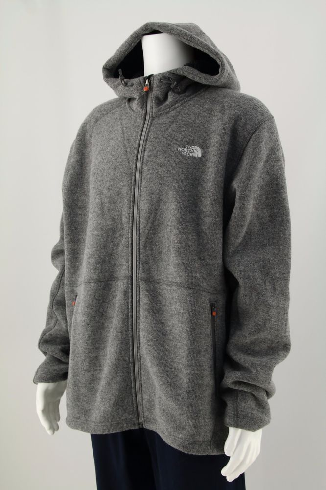 THE NORTH FACE MEN'S JACKET WOOL SWEATSHIRT GREY Size: 2XL #TheNorthFace