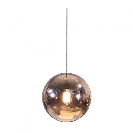 Deckenlampe Ball Lamp Copper von HKliving jetzt im design3000.de Shop kaufen! So schön wie eine aufgehende Sonne: In der Kugellampe Ball ist die...