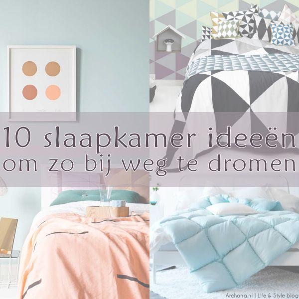 10 slaapkamer ideeën om zo bij weg te dromen | via Archana.nl