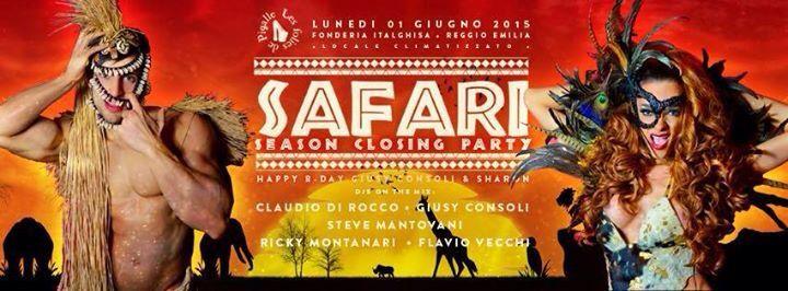#foliesdepigalle #safariparty #dresscode #closingparty info/liste/tavoli 3933366886 #dimitrimazzoni