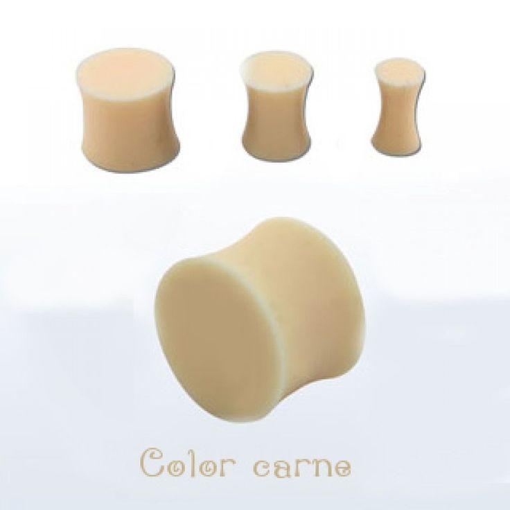 Dilatación de silicona flexible color carne. ¿Necesitas disimular tu dilatación? Usa este plug retainer color piel. Permite aplicar maquillaje por encima , 1.67