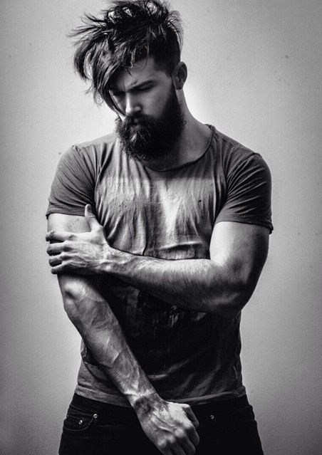 I think it's the beard...idk what else draws me to such giant, mountain men...sexy af