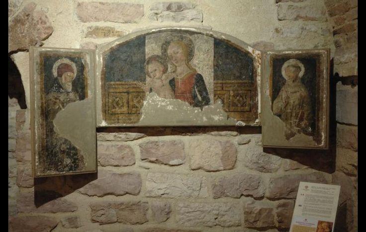 MATTEO DA GUALDO. EDICOLA DELLA CONFRATERNITA FEDELI, MARCELLO; JPG; 2126 PIXELS; 1417 PIXELS