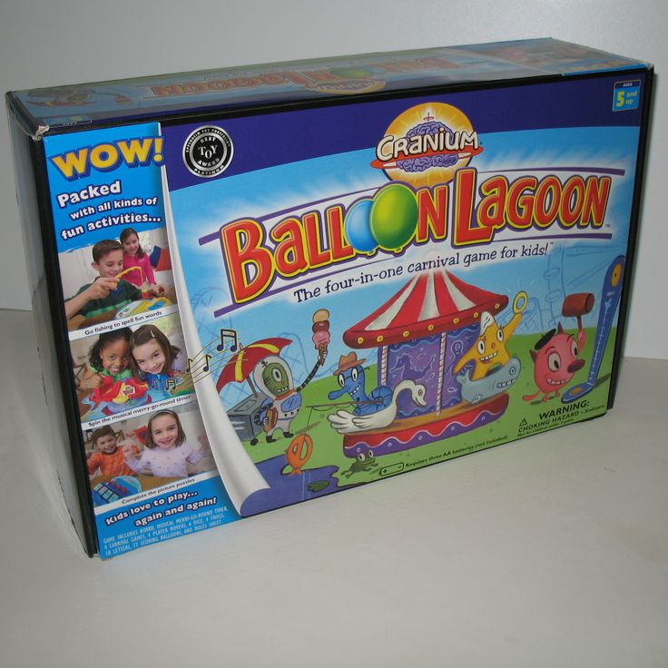 We loved Cranium games like Cranium Balloon Lagoon The Four-In-One Carnival Game For Kids. #cranium #games #ck $69.96