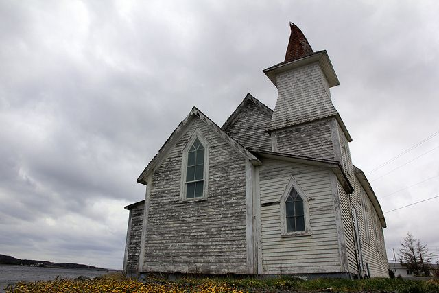 There Was a Crooked Church: South Twillingate Island, Newfoundland