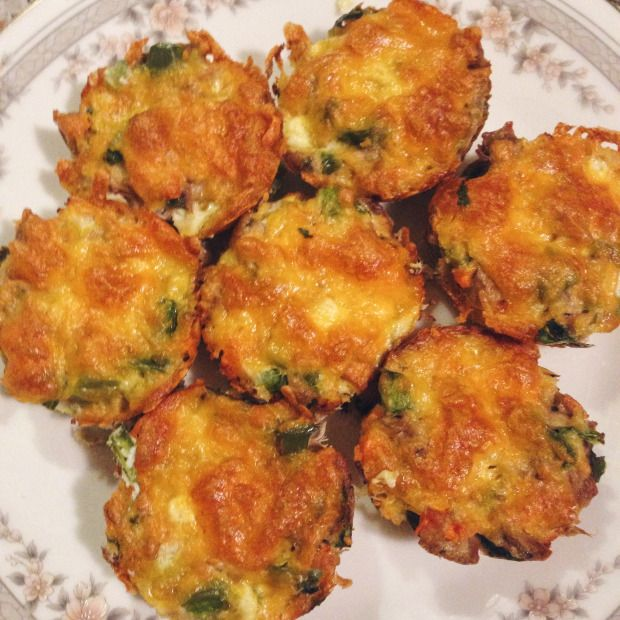 Yummy tuna muffin cups, 21 day fix and hammer and chisel. Easy and fast to make