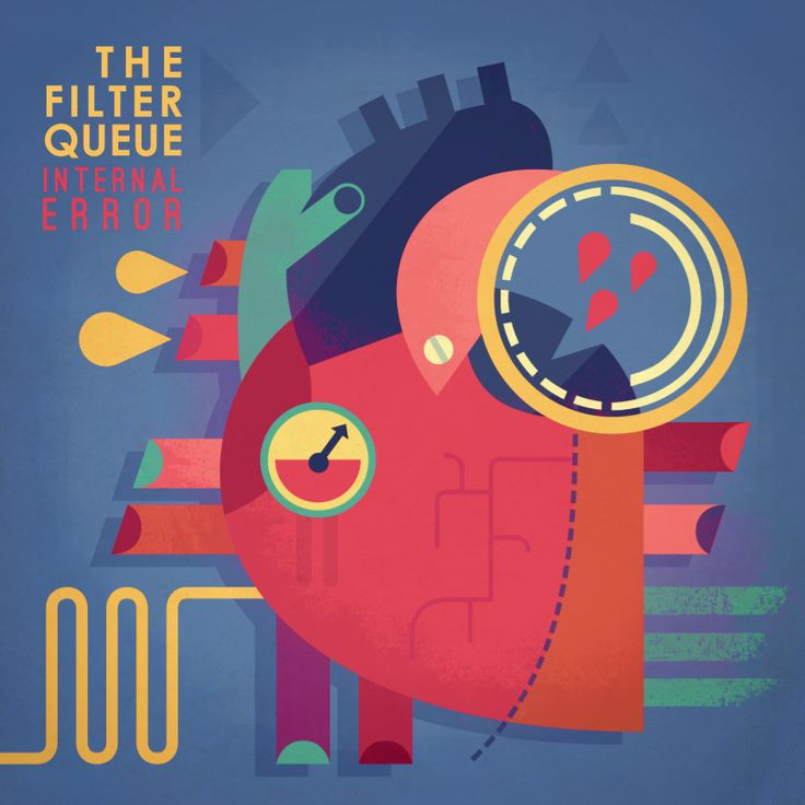 Filter Queue - Owen Davey Illustration