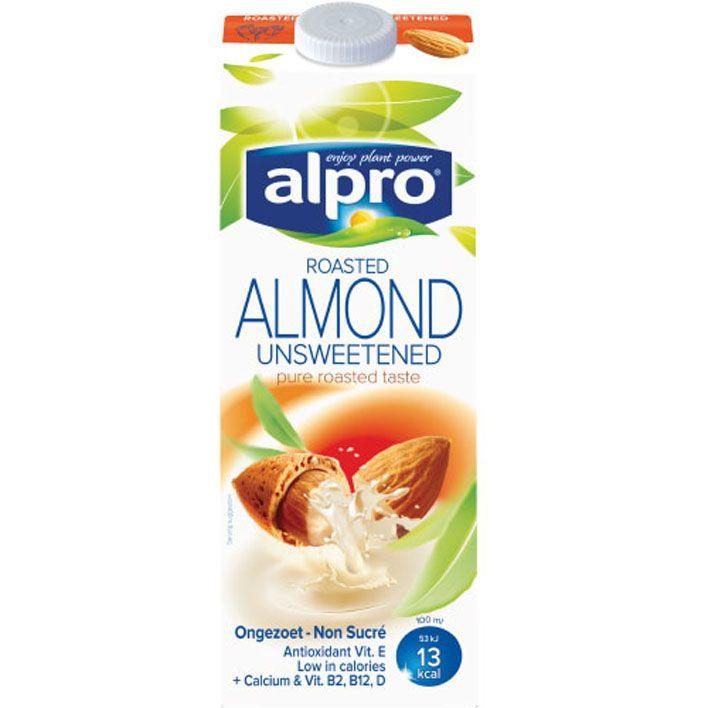 Alpro 'melk' Amandeldrink ongezoet #vegan