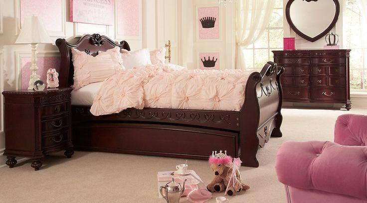 Affordable disney twin bedroom sets girls room furniture shops pinterest disney for Disney girl bedroom furniture