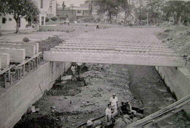 Canalización de la Quebrada Santa Elena