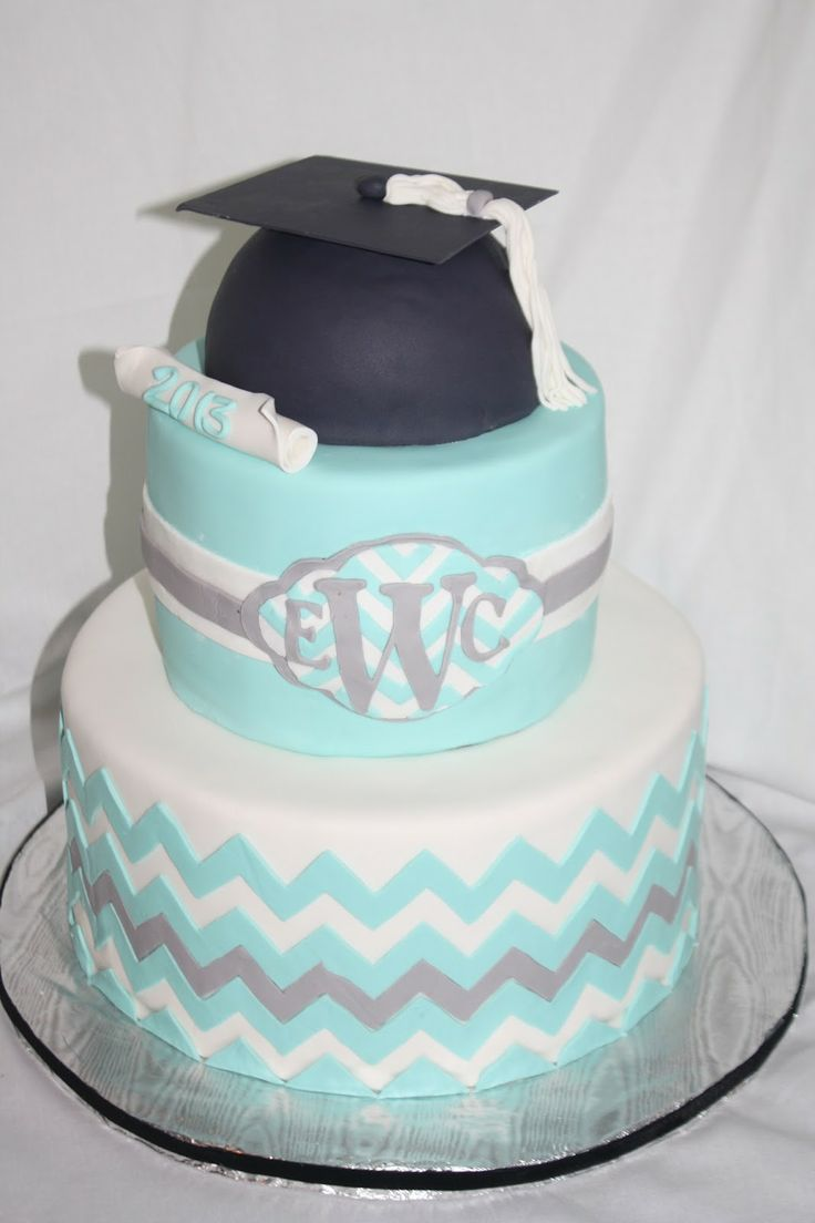 Cute Graduation Cake Idea