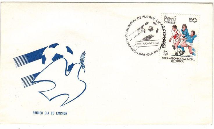 Peru 1982 FDC Spain 82 World Cup Soccer FIFA XII Campeonato Mundial de Futbol    eBay