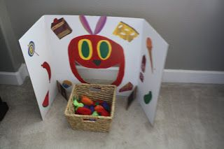 The Very Hungry Caterpillar: Activities . Maybe make into learning game.