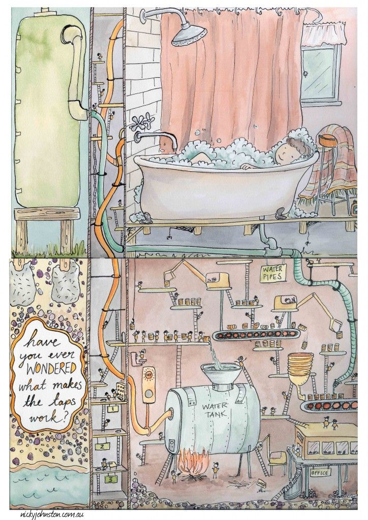 52 Week Illustration Challenge - February | Nicky Johnston