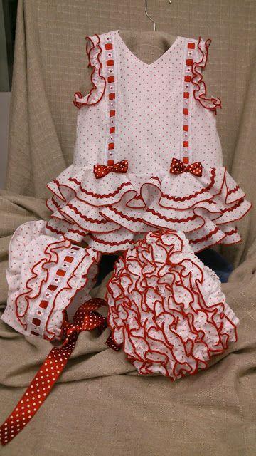 baby flamenco outfit! news-dressed-of-Flemish-tallerMODA FLAMENCO workshop-carmina