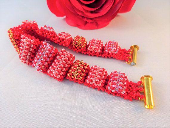 Beste Kralen Armbanden Lagen Juwelen voor Vrouwen Rode