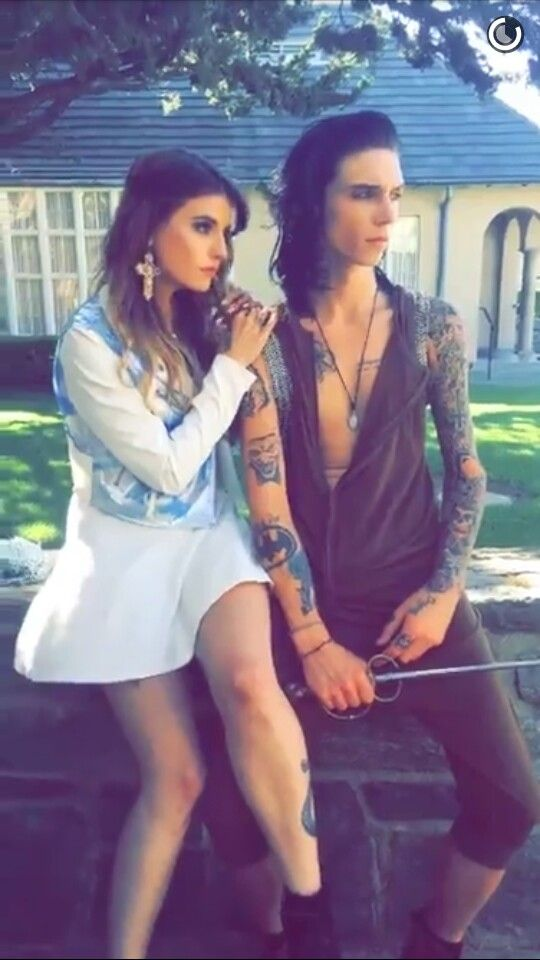 17 best images about juliet simms and andy biersack on