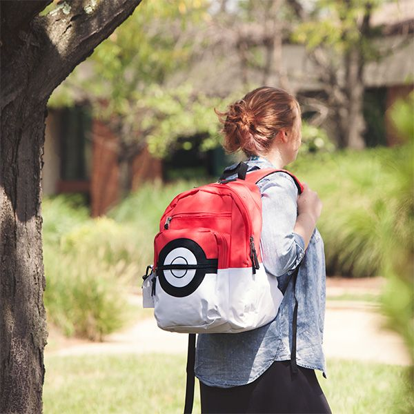 Pokemon Poke Ball Backpack Is The Storage Solution Ash Never Dreamed Of -  #fashion #pokemon