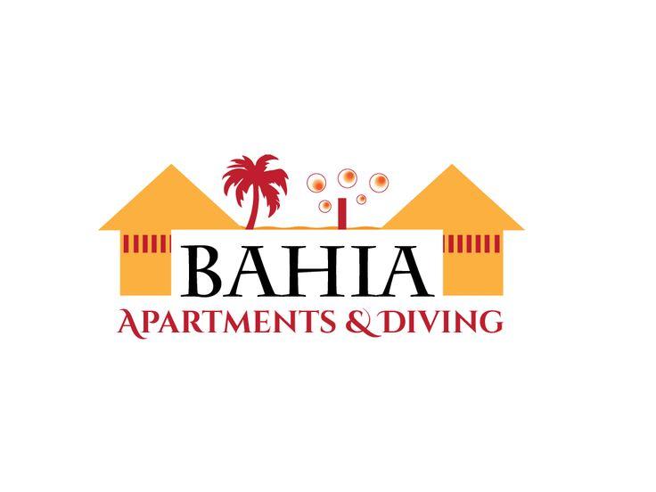 Bahia Apartments & Diving op Curacao is op zoek naar HET logo dat aansluit bij ons tropisch bedrijf Logo design #41 by Graphics by Loes