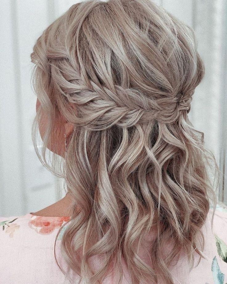 Butterfly French Barrette 80mm Thick Hair Barrette Hair | Etsy in 2021 | Medium hair styles, Braided hairstyles, Medium hair braids