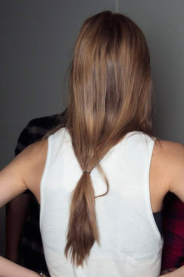 8 Long Ponytail Hairstyles to Try This Spring - Deconstructed and messy loose ponytail