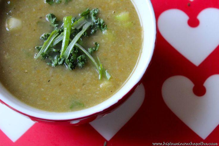 Tak trošku o protizánětlivém pórku a recept na Pórkovo-zelnou polévku
