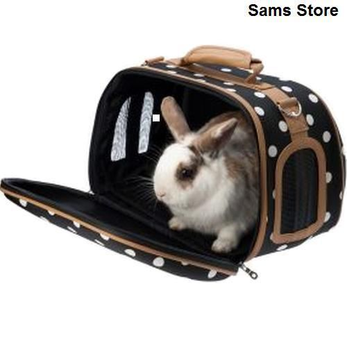 Pet Carrier Small Animals Stylish Travel Rabbits Guinea Pigs Kittens Puppy Rats in Pet Supplies, Small Animal Supplies, Carriers & Crates | eBay