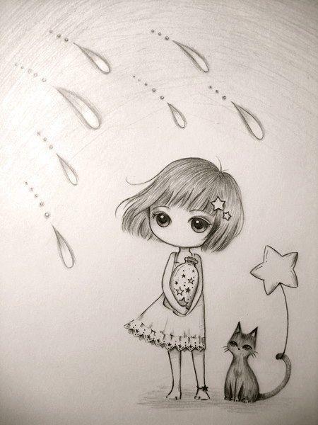 Lluvia: se ve como algo malo; sin embargo ella cae con una sonrisa.