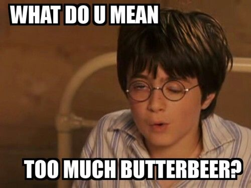 Harry Potter humor. Poor Harry! :)