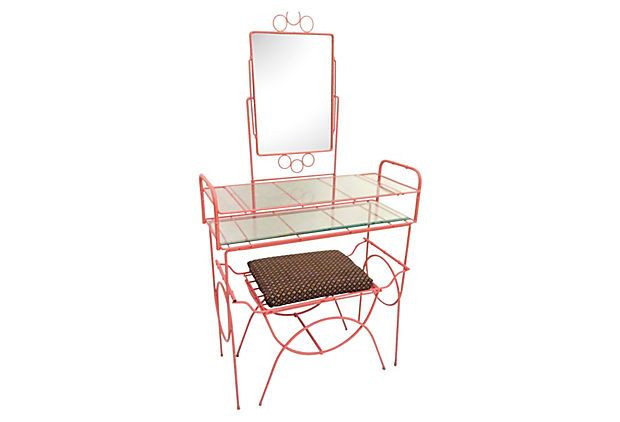 Coral Vanity Table Table Outdoor Chairs Vanity