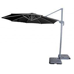 Hangende Parasol (zwart) #parasol #hangendeparasol #tuinparasol #hangparasol