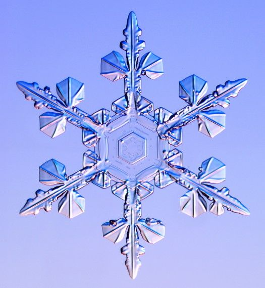 Kepingan Sang Bintang: Ragam Bentuk Kristal Air dan Kristal Es