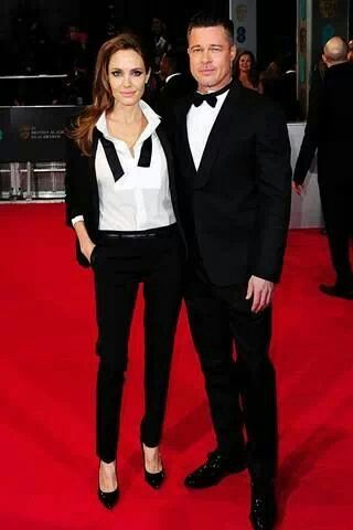Brad Pitt & Anjolina Jolie
