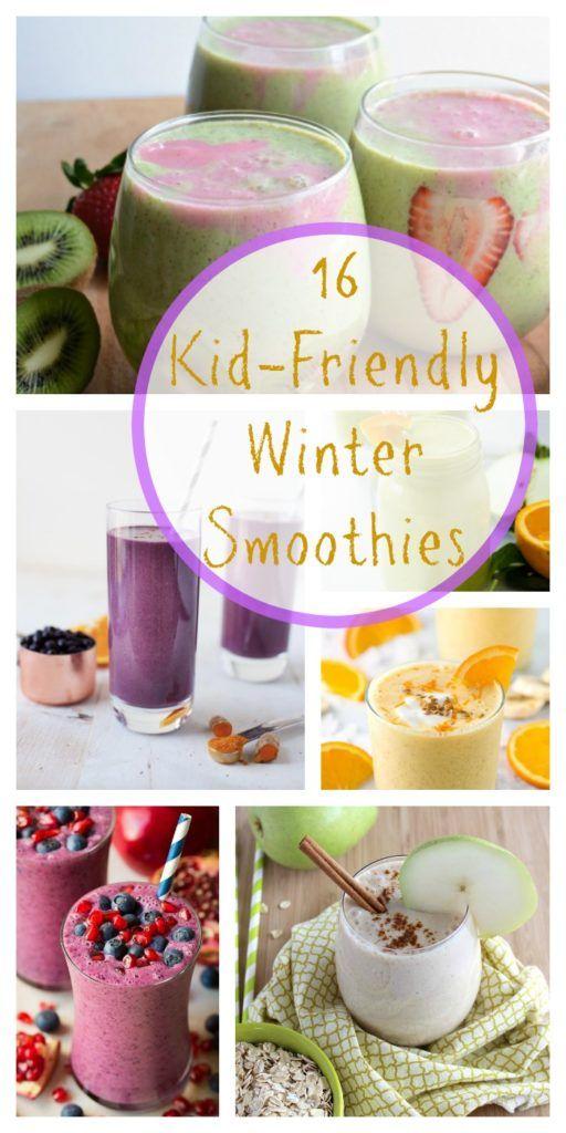 16 Kid-Friendly Winter Smoothies