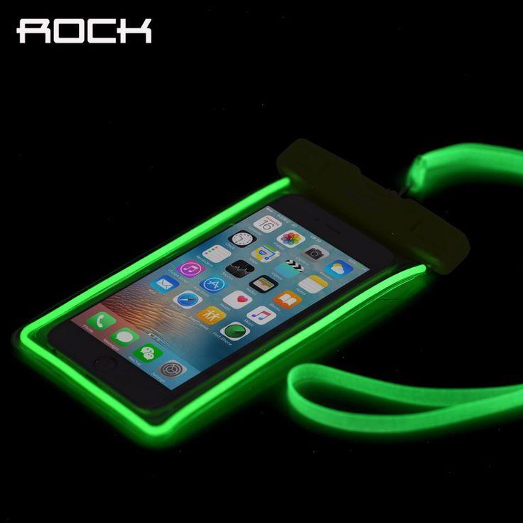 Luminous Waterproof <b>Bag Case</b> for iPhone/Samsung/Xiaomi ...